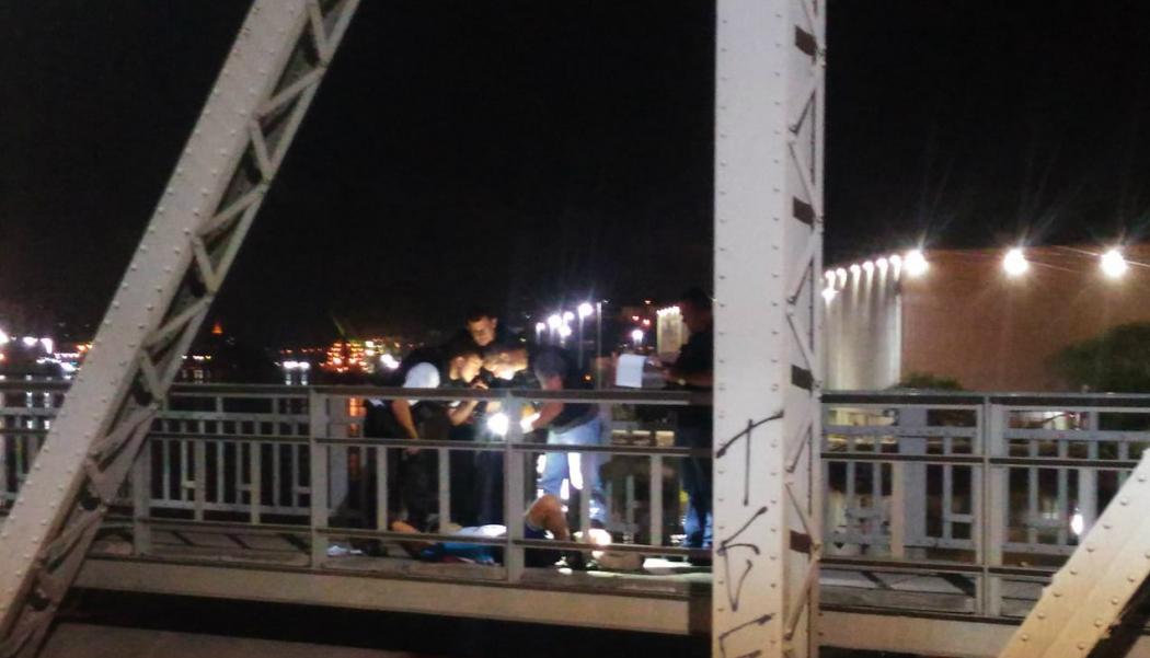 Ciclista morreu durante assalto na Cinco Pontes, em Vitória. Crédito: Elis Carvalho