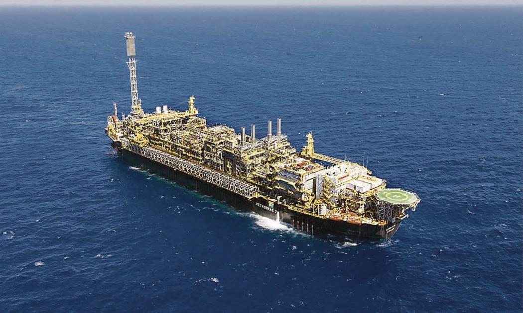 Recursos vêm do acordo de unificação do Parque das Baleias, área de exploração de petróleo no mar. Crédito: Agência Petrobras