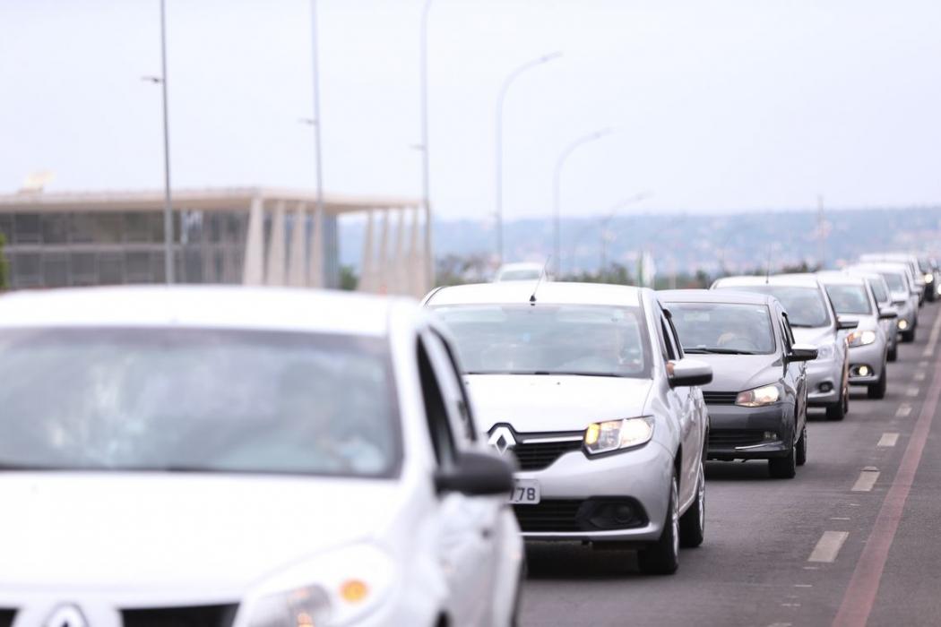 Governo regulamenta inscrição de motorista de aplicativo no INSS. Crédito: Marcelo Camargo/Agência Brasil
