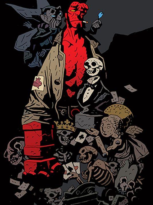 Hellboy. Crédito:  Dark Horse