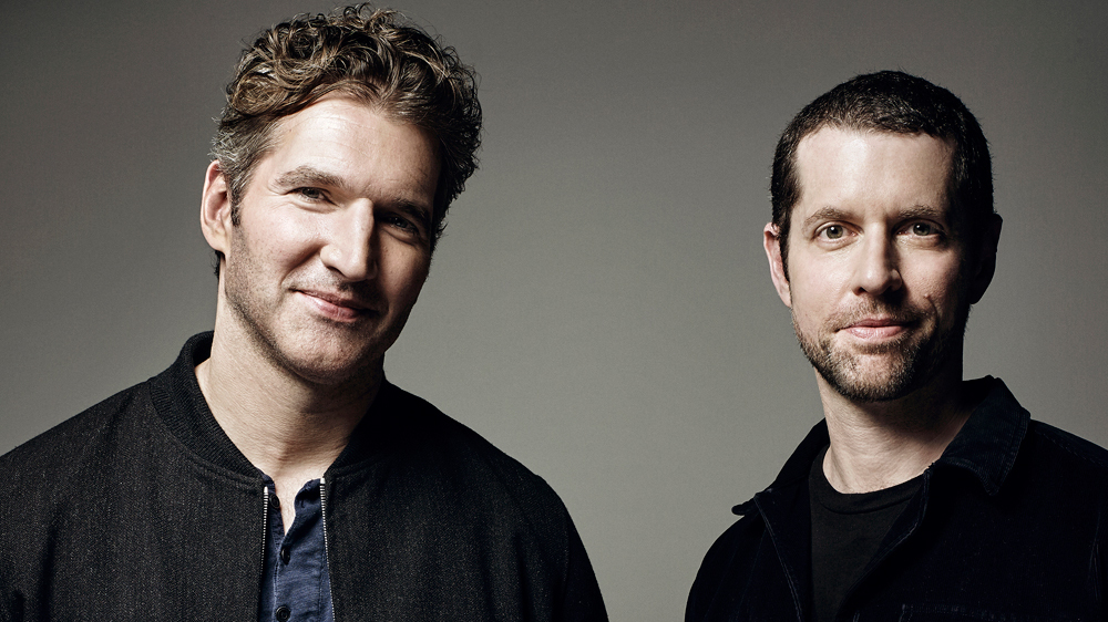 "15/05/2019 - Os roteiristas de ""Game of Thrones"" David Benioff e D.B. Weiss. Crédito: ART STREIBER FOR VARIETY"
