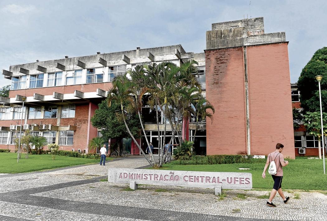 Reitoria da Ufes, em Goiabeiras: processo para eleger o novo eleitor começa neste semestre. Crédito: Fernando Madeira