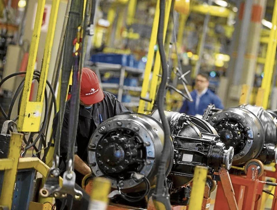 Fábrica de automóveis: resultado da indústria no país decepcionou. Crédito: Márcia Foletto / Agência O Globo