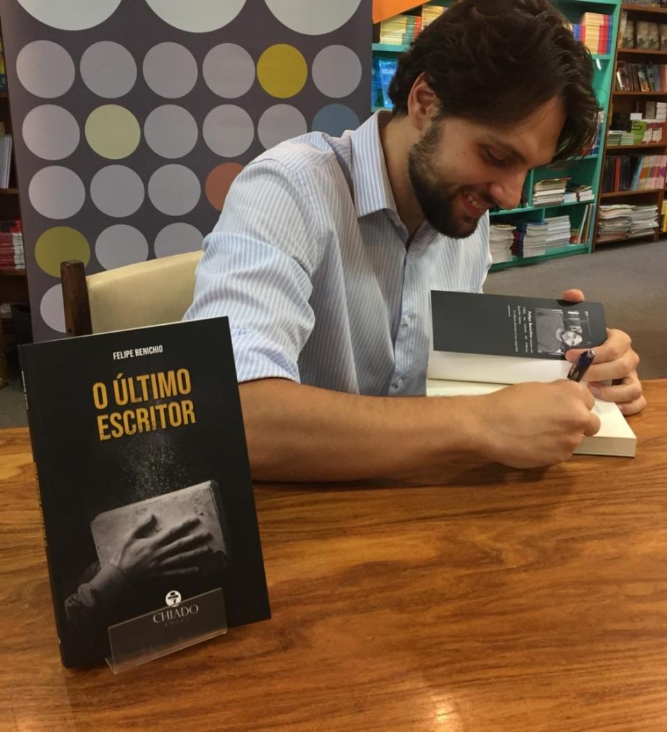 O juiz e escritor Felipe Benichio é capixaba e mora em São Paulo. Crédito: Arquivo pessoal/Gazeta Online
