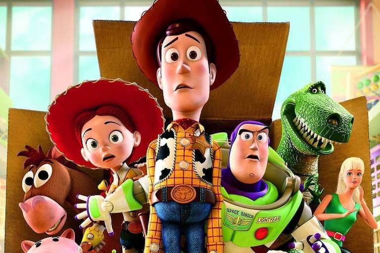 Toy Story. Crédito: Divulgação