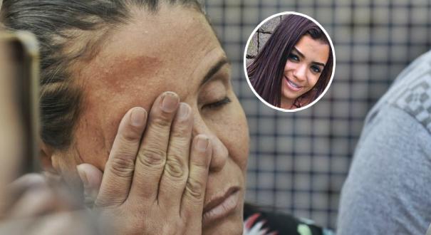 Jucélia Carolina Alves Oliveira, mãe de Brunielly Oliveira, morta no acidente da Terceira Ponte. Crédito: Montagem Gazeta Online