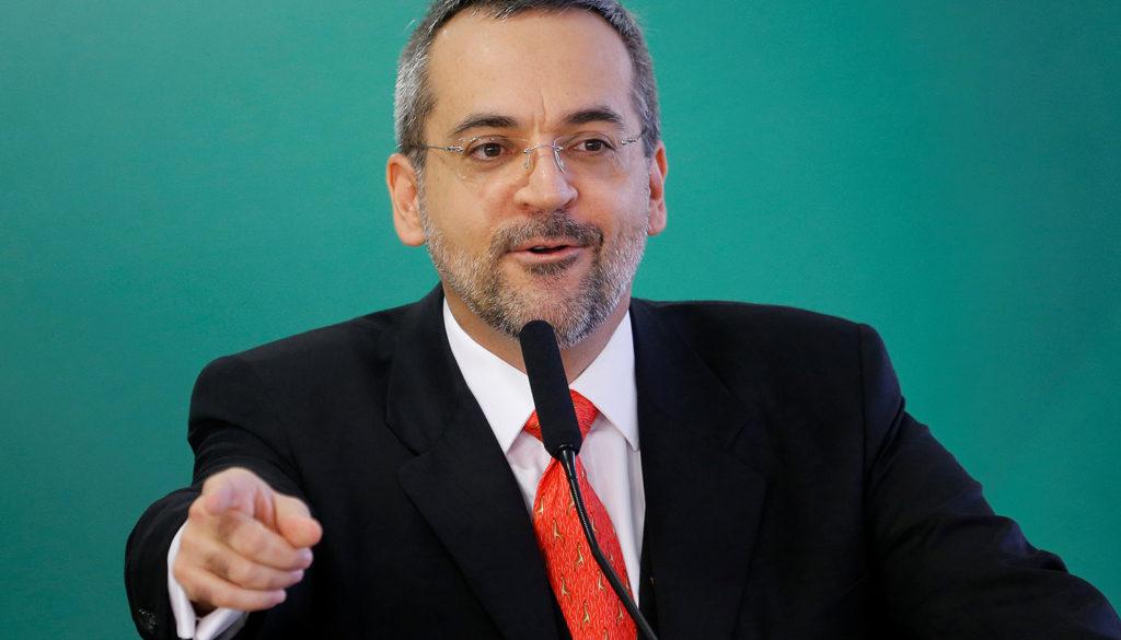 Ministro da Educação, Abraham Weintraub. Crédito: ADRIANO MACHADO