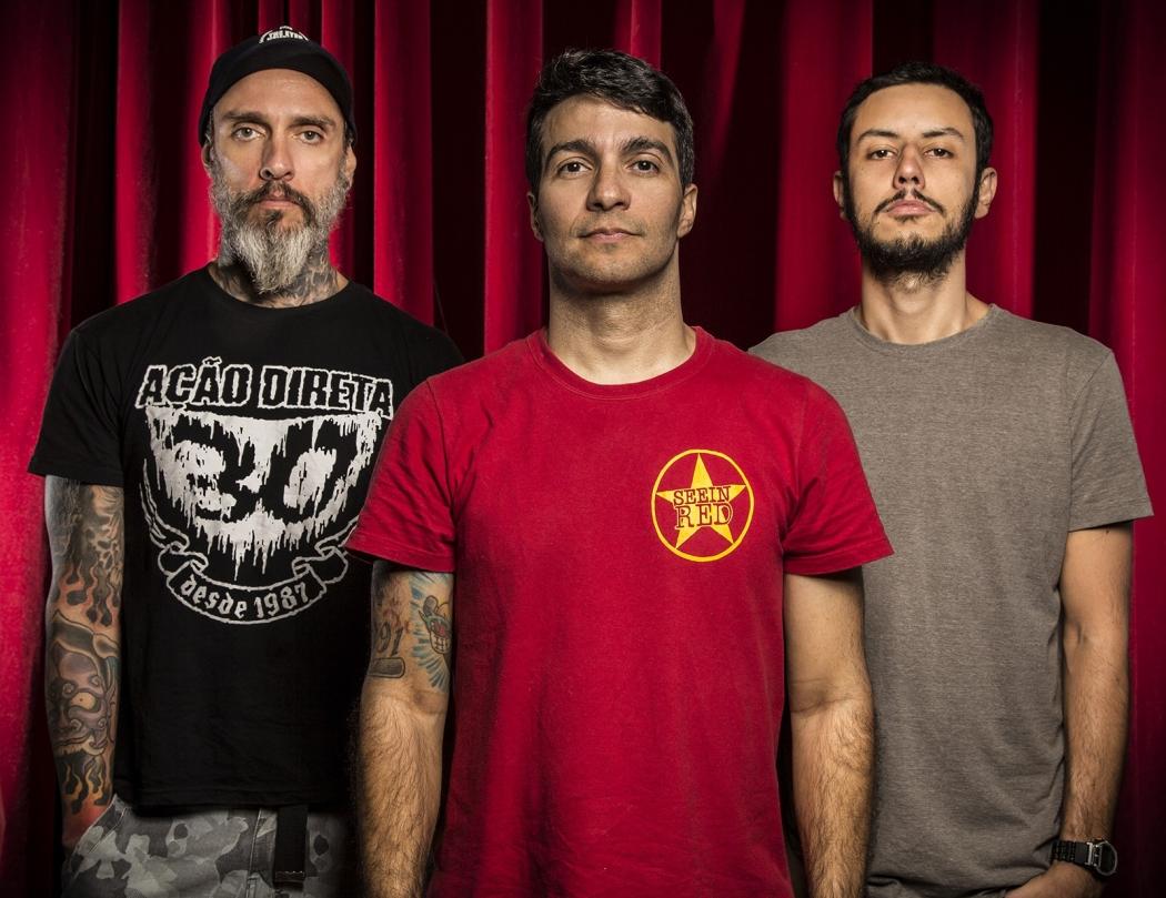 """A banda hardcore Dead Fish lança nova música, """"Sangue nas mãos"""". Crédito: Divulgação/Marcelo Marafante"""