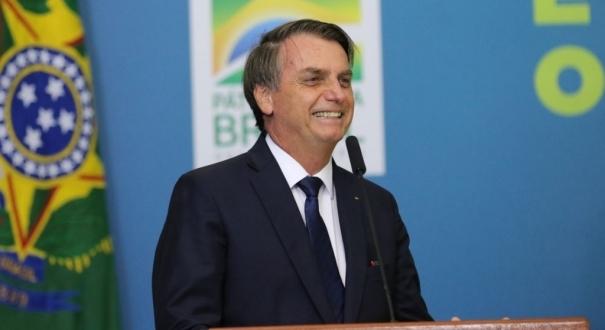 Presidente Jair Bolsonaro. Crédito: (Windows)
