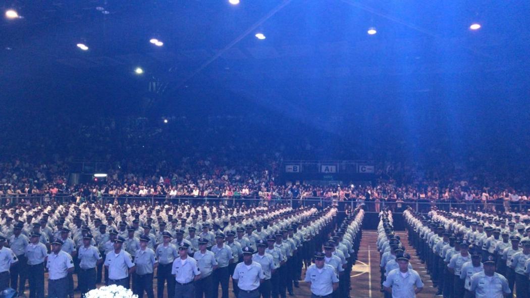 Formatura de 600 sargentos da PMES. Crédito: Assessoria