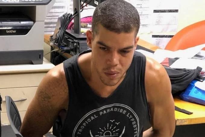 O lutador de jiu-jitsu Igor Uriel Tron Pereira Lomba foi preso acusado de matar um homem e postar a foto da vítima nas redes sociais . Crédito: Divulgação