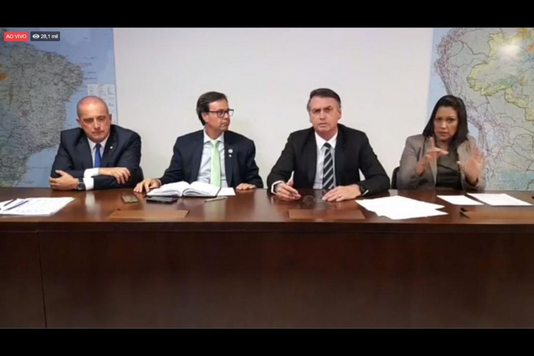 O ministro-chefe da Casa Civil, Onyx Lorenzoni, disse que o Brasil deve concluir a entrada na Organização para a Cooperação e Desenvolvimento Econômico (OCDE) em até três anos. Crédito: Presidência da República