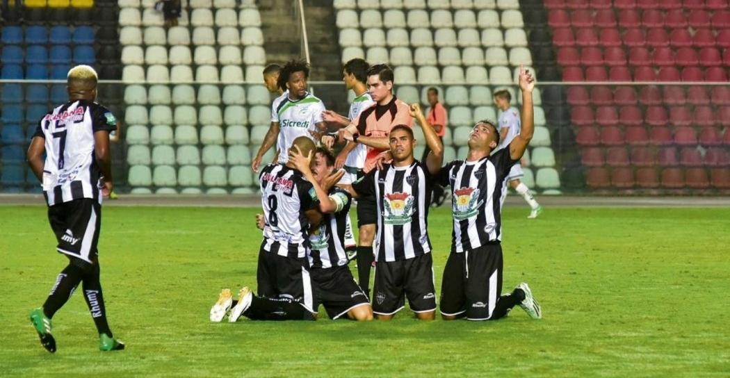 O Atlético Itapemirim foi um dos destaques da Copa Verde 2018