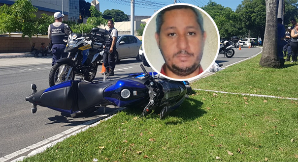 Rafael Braga dos Santos, de 39 anos, morreu no local. Crédito: Kaique Dias