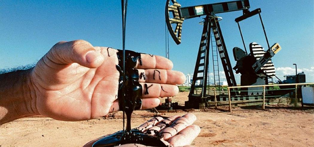 Exploração de petróleo em terra, em Linhares. Crédito: Carlos Alberto da Silva