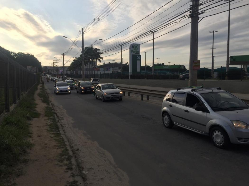 Carreata pró-Bolsonaro em Cachoeiro de Itapemirim. Crédito: Rafael Ferraz