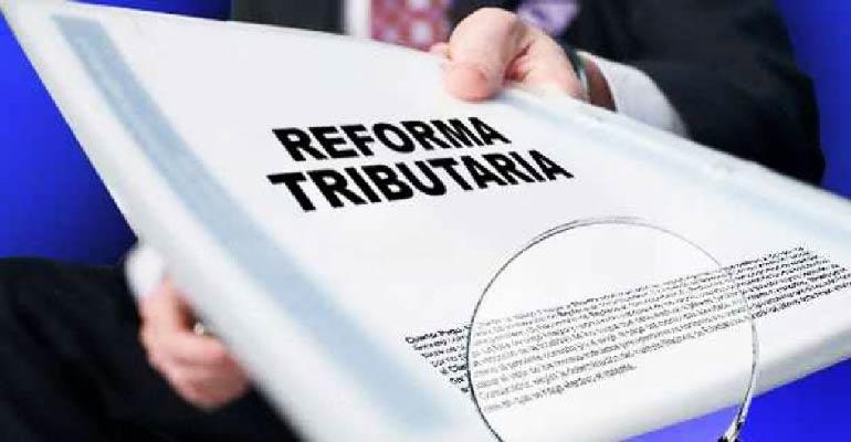 Reforma tributária. Crédito: Divulgação