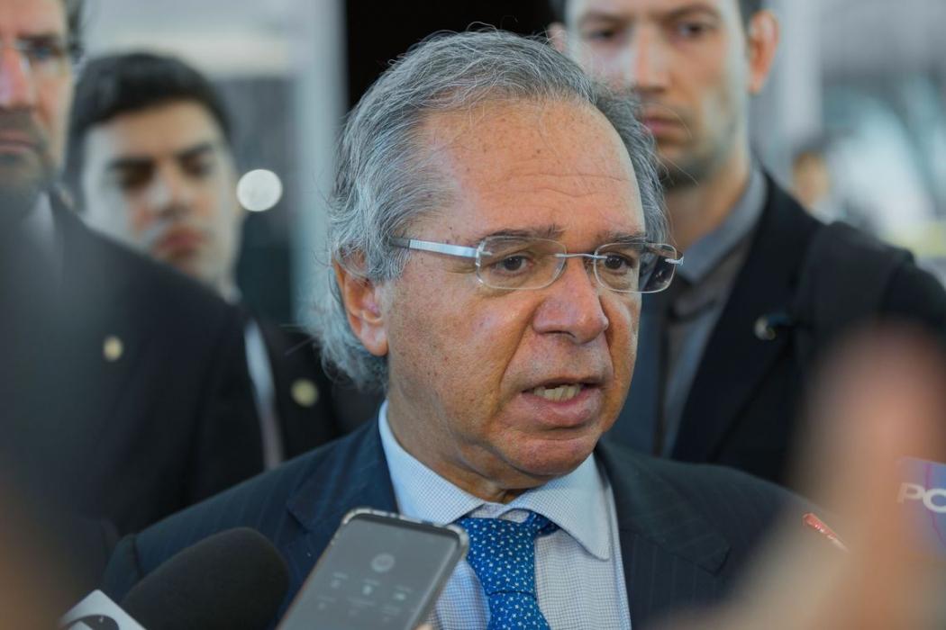 O ministro da Economia, Paulo Guedes. Crédito: Gustavo Raniere/ASCOM/Ministério da Economia | Arquivo
