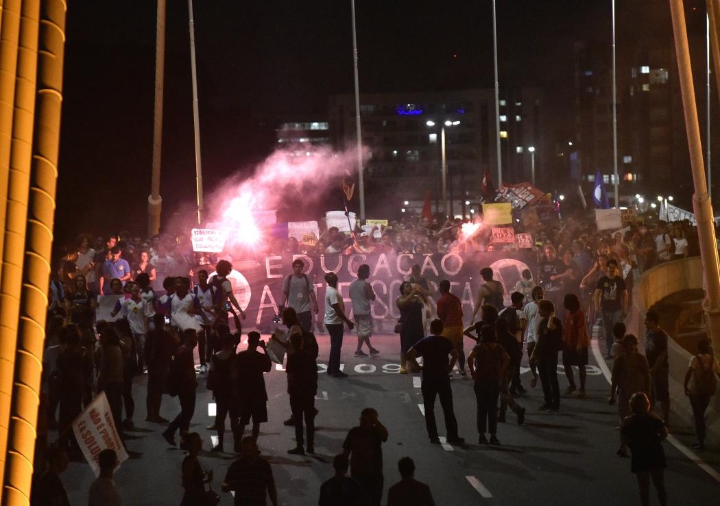 Manifestações em Vitória. Crédito: Fernando Madeira
