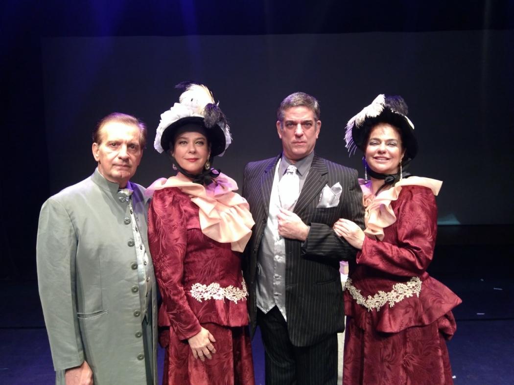 Espetáculo de Livro dos Espíritos é apresentado em Vitória . Crédito: Guillermo Dalchiele