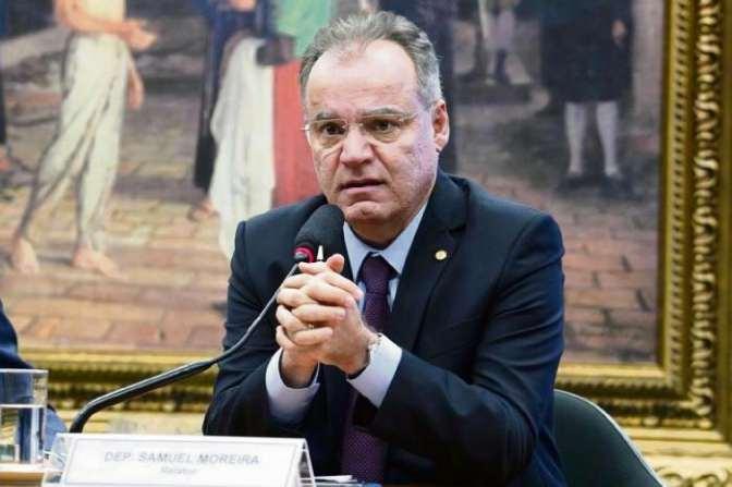 Relator da reforma, Samuel Moreira negocia alternativas junto ao governo. Crédito: Pablo Valadares/Câmara dos Deputados