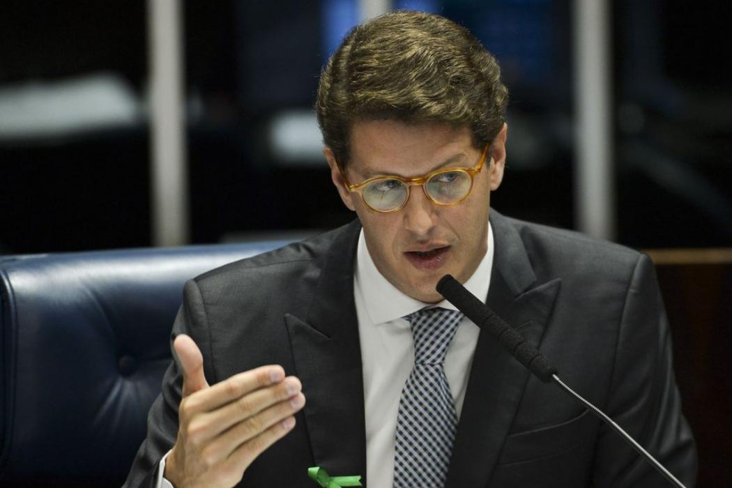 Ricardo Salles, ministro do Meio Ambiente. Crédito: Marcelo Camargo | Agência Brasil