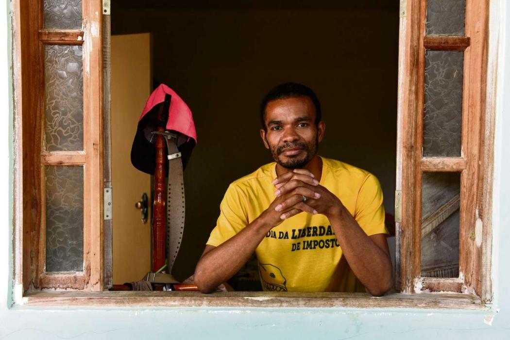 Ciro Soares, 32 anos, vive com uma renda de um salário mínimo - Desigualdades salariais - Editoria: Economia