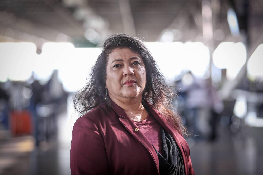 A deputada Christiane Yared (PL-PR), cujo filho morreu em acidente de trânsito. Crédito: Folhapress
