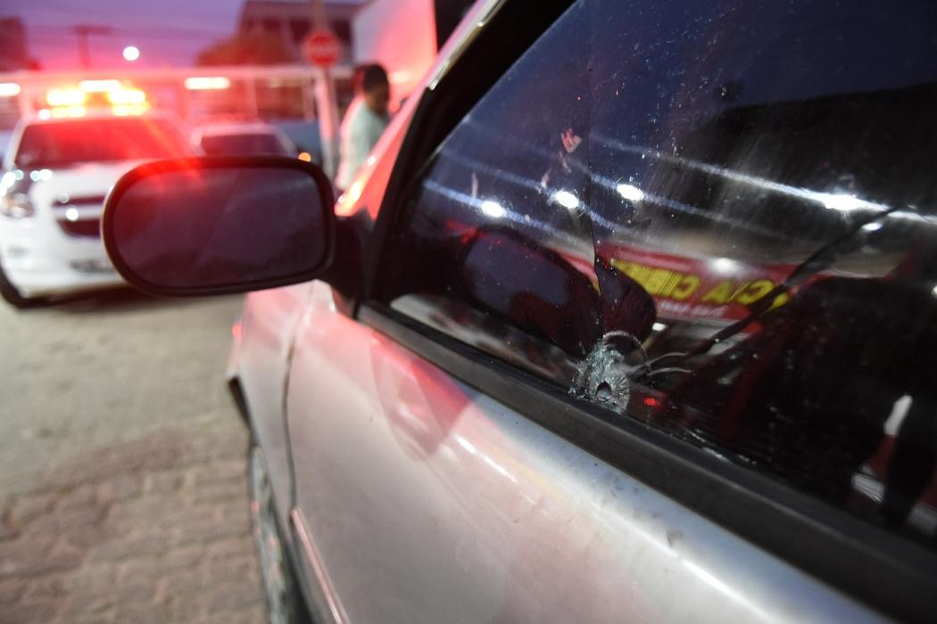 Grupo foi alvo de criminosos em Vila Velha. Crédito: Carlos Alberto Silva