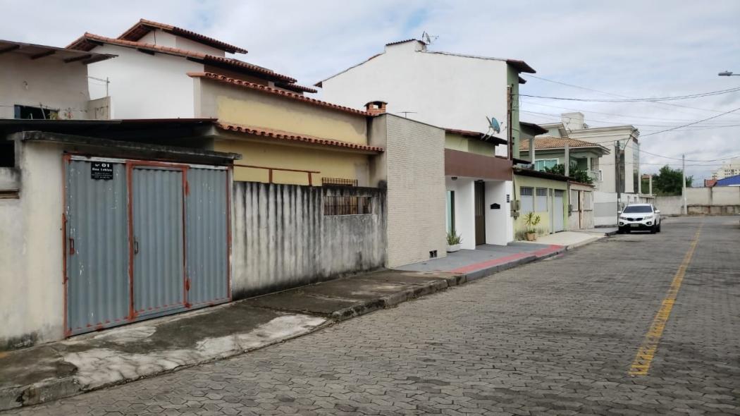 idoso matou a ex-esposa e depois se matou em Morada de Laranjeiras, na Serra. Crédito: Bernardo Coutinho