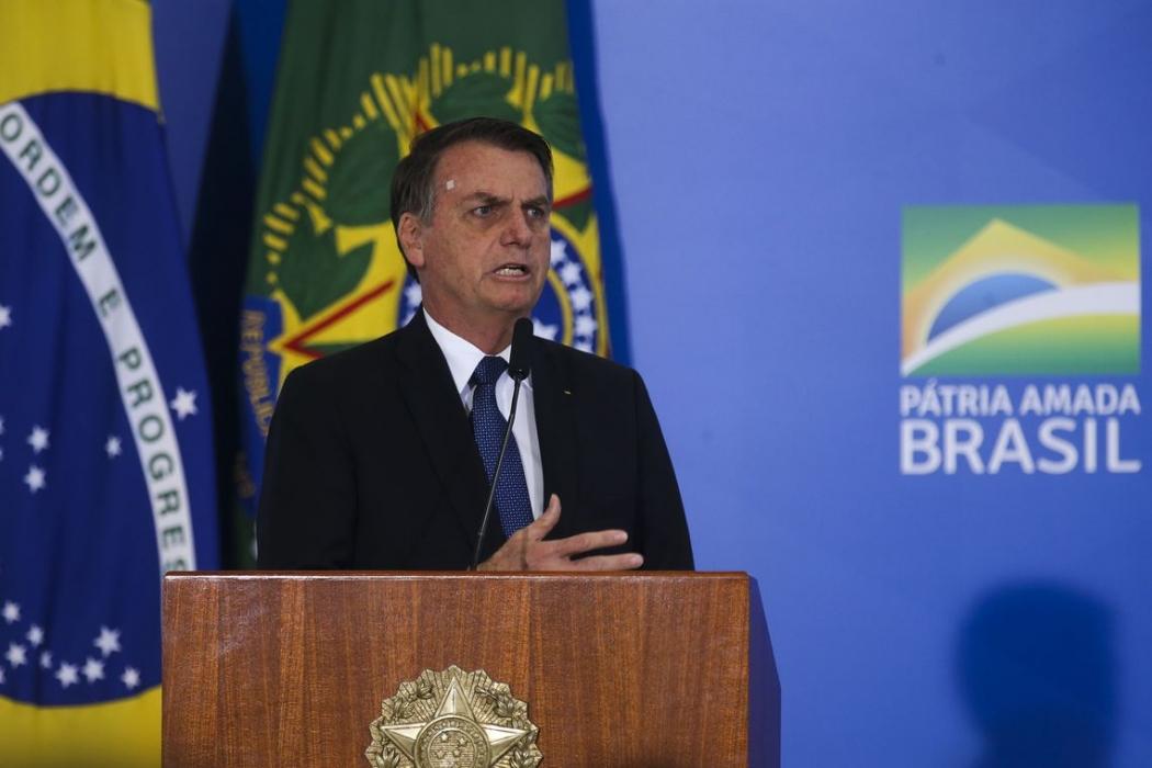 Presidente Jair Bolsonaro. Crédito: Antonio Cruz/ Agência Brasil | Arquivo
