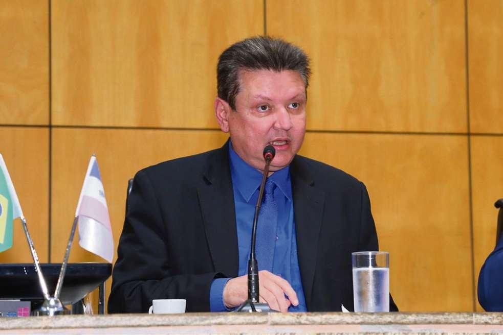 Euclério Sampaio, deputado estadual. Crédito: Tati Belling/Ales