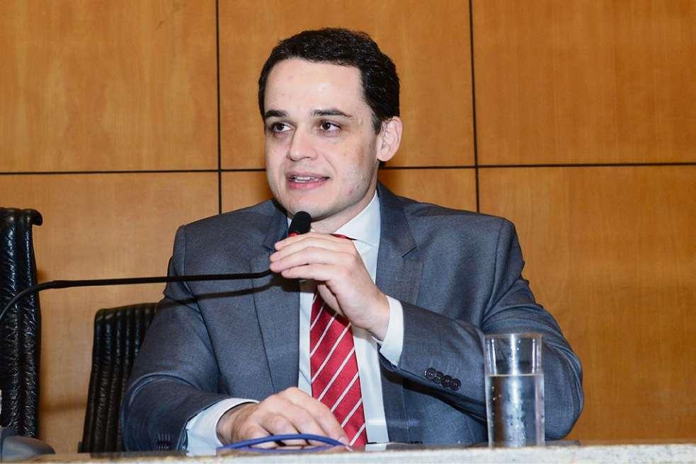 Lorenzo Pazolini, deputado estadual. Crédito: Ellen Campanharo/Ales