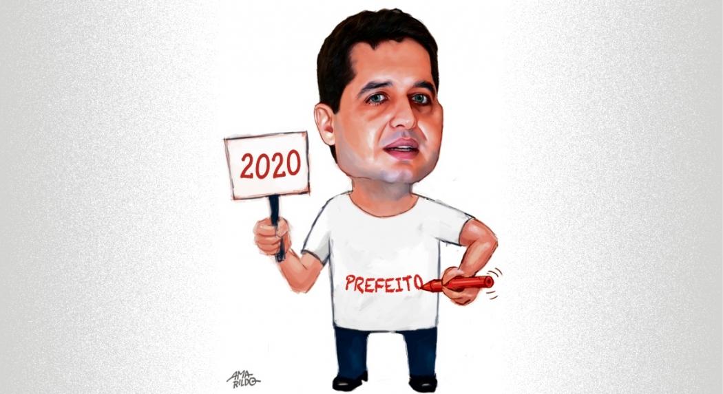 Gandini é o candidato do prefeito Luciano Rezende (PPS). Crédito: Amarildo