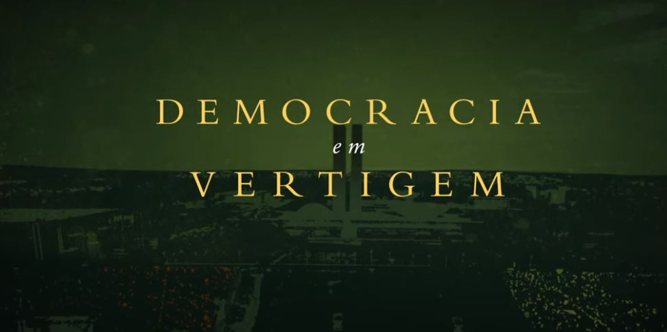 Trailer filme Democracia em Vertigem. Crédito: Reprodução/Netflix