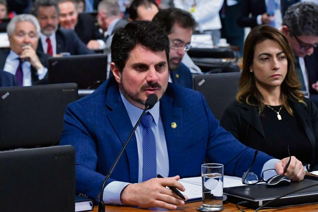 Senador Marcos do Val (PPS). Crédito: Geraldo Magela/Agência Senado