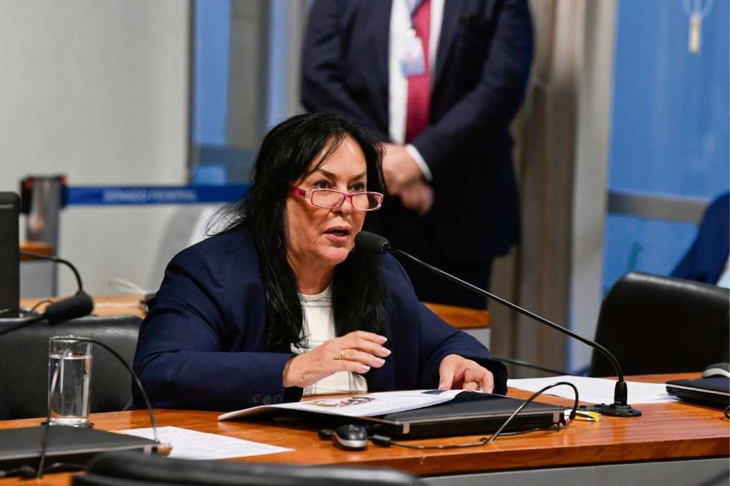 Senadora Rose de Freitas (Podemos). Crédito: Jefferson Rudy/Agência Senado