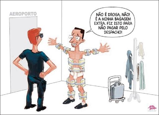 Charge do Amarildo - 23/06/2019. Crédito: Amarildo