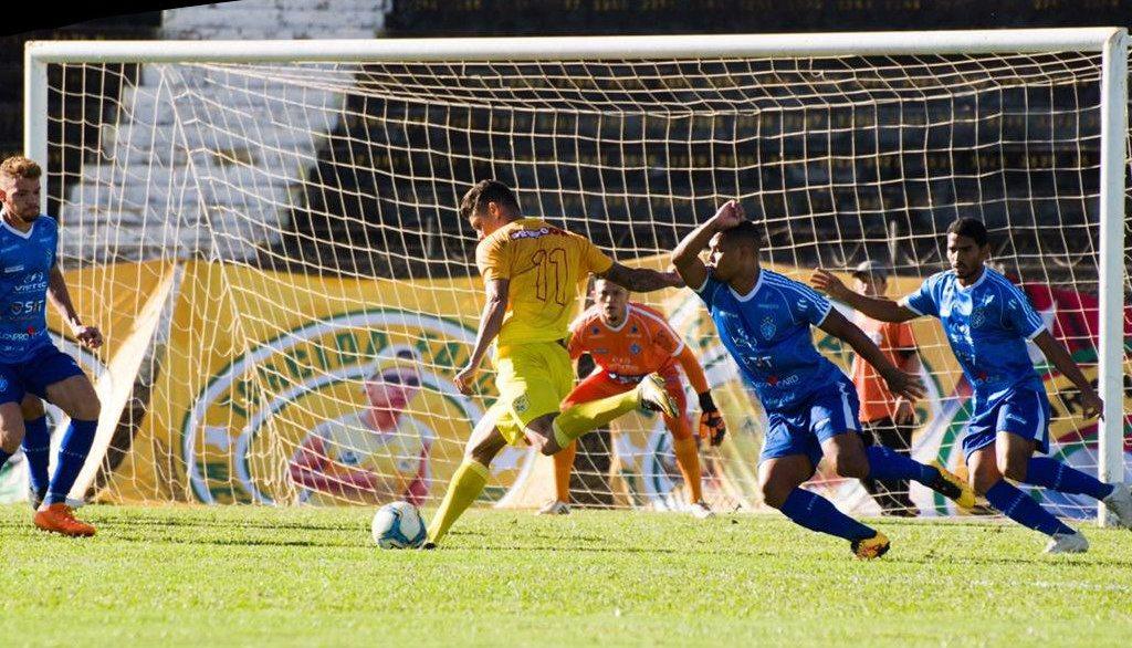 O Vitória venceu o Brasiliense e está nas oitavas de final da Série D. Crédito: Divulgação/Brasiliense