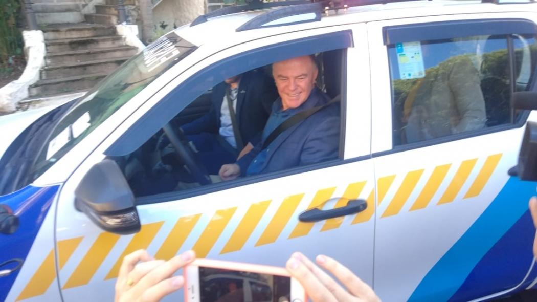 """Casagrande critica intenção de Bolsonaro de retirar radares: """"Nas estaduais, não vamos tirar"""". Crédito: Caíque Verli"""