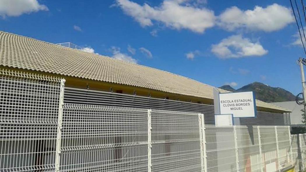Escola Clóvis Borges Miguel, na Serra. Crédito: Divulgação