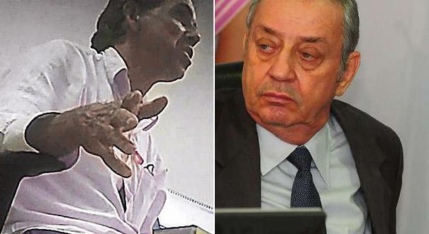 Geraldinho Feu Rosa foi afastado da Câmara da Serra; Marcos Madureira é conselheiro aposentado do TCES. Crédito: Reprodução | Ricardo Medeiros