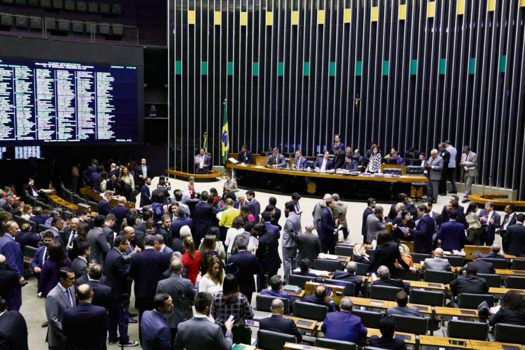 Plenário da Câmara dos Deputados: discussão ficou para depois do recesso. Crédito: Luis Macedo/Câmara dos Deputados