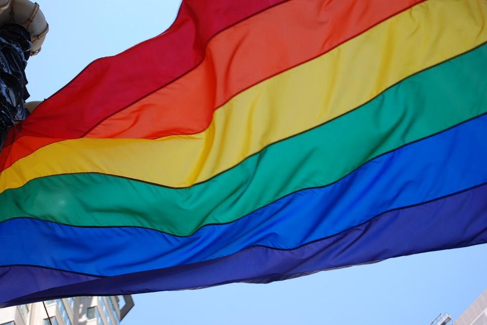 Bandeira LGBT. Crédito: Pixabay