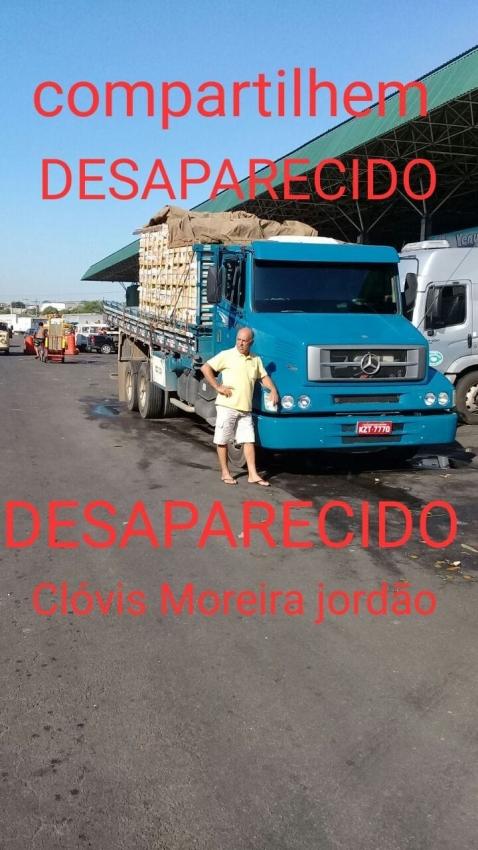 Caminhoneiro de Cachoeiro desaparece em Mato Grosso do Sul