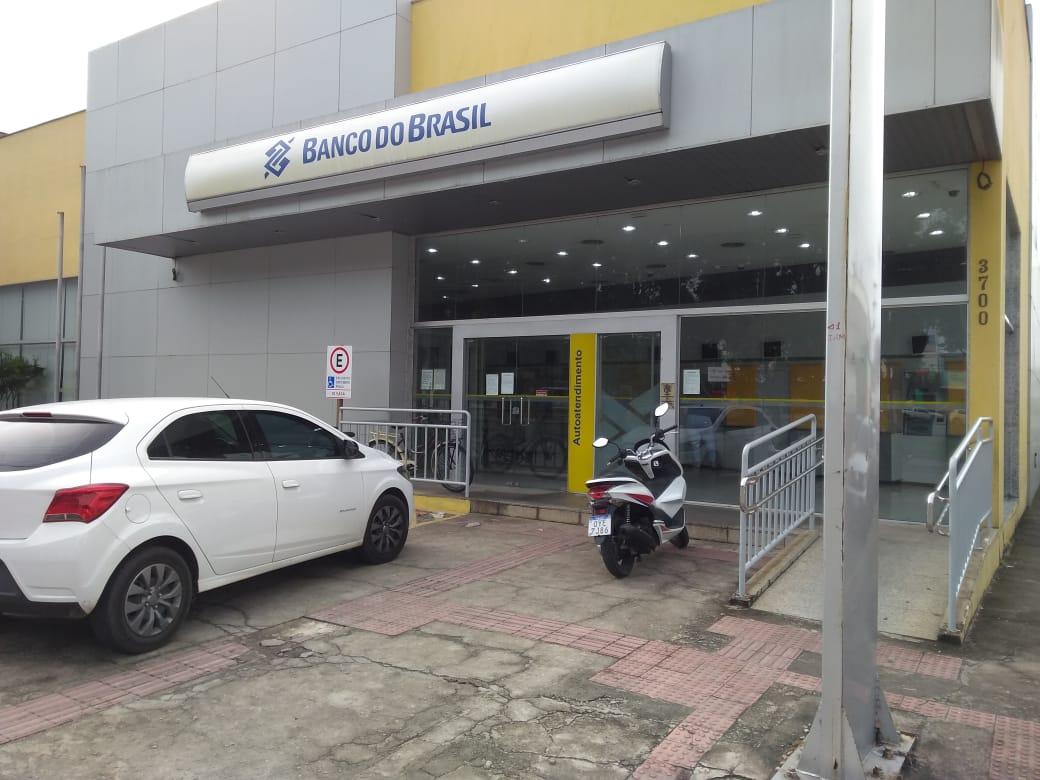 A agência do Banco do Brasil fica localizada no bairro Lagoa do Meio, em Linhares. Crédito: Leonardo Goliver