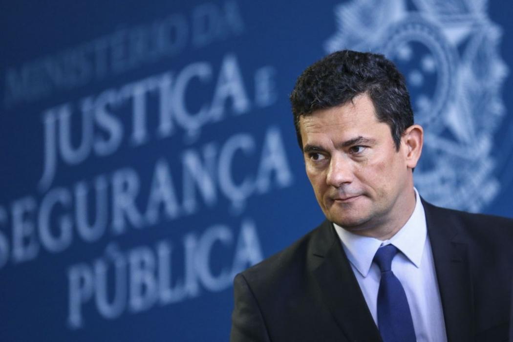 Sergio Moro é ministro da Justiça. Crédito: Marcelo Camargo/Agência Brasil