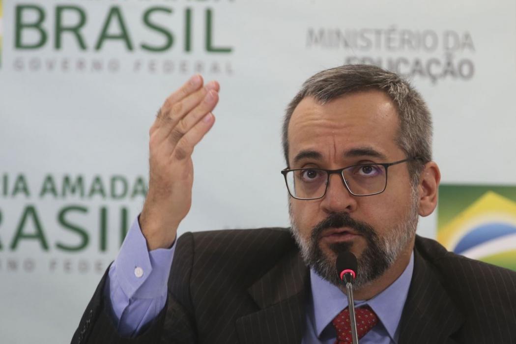 O ministro da Educação, Abraham Weintraub. Crédito: Antonio Cruz/ Agência Brasil