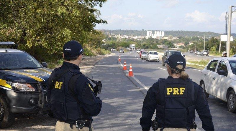 Polícia Rodoviária Federal (PRF) atua nas estradas de todo o país. Crédito: Facebook/ PRF