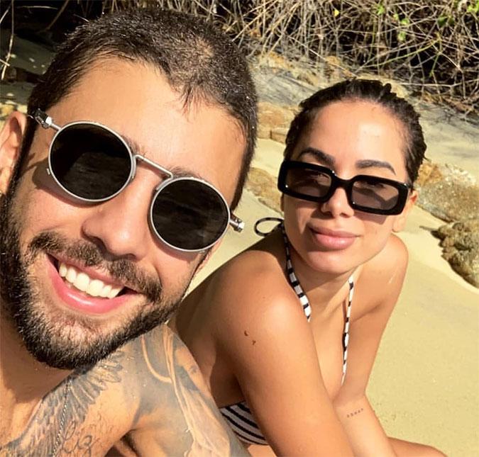 Pedro Scooby e a namorada, Anitta. Crédito: Reprodução/Instagram